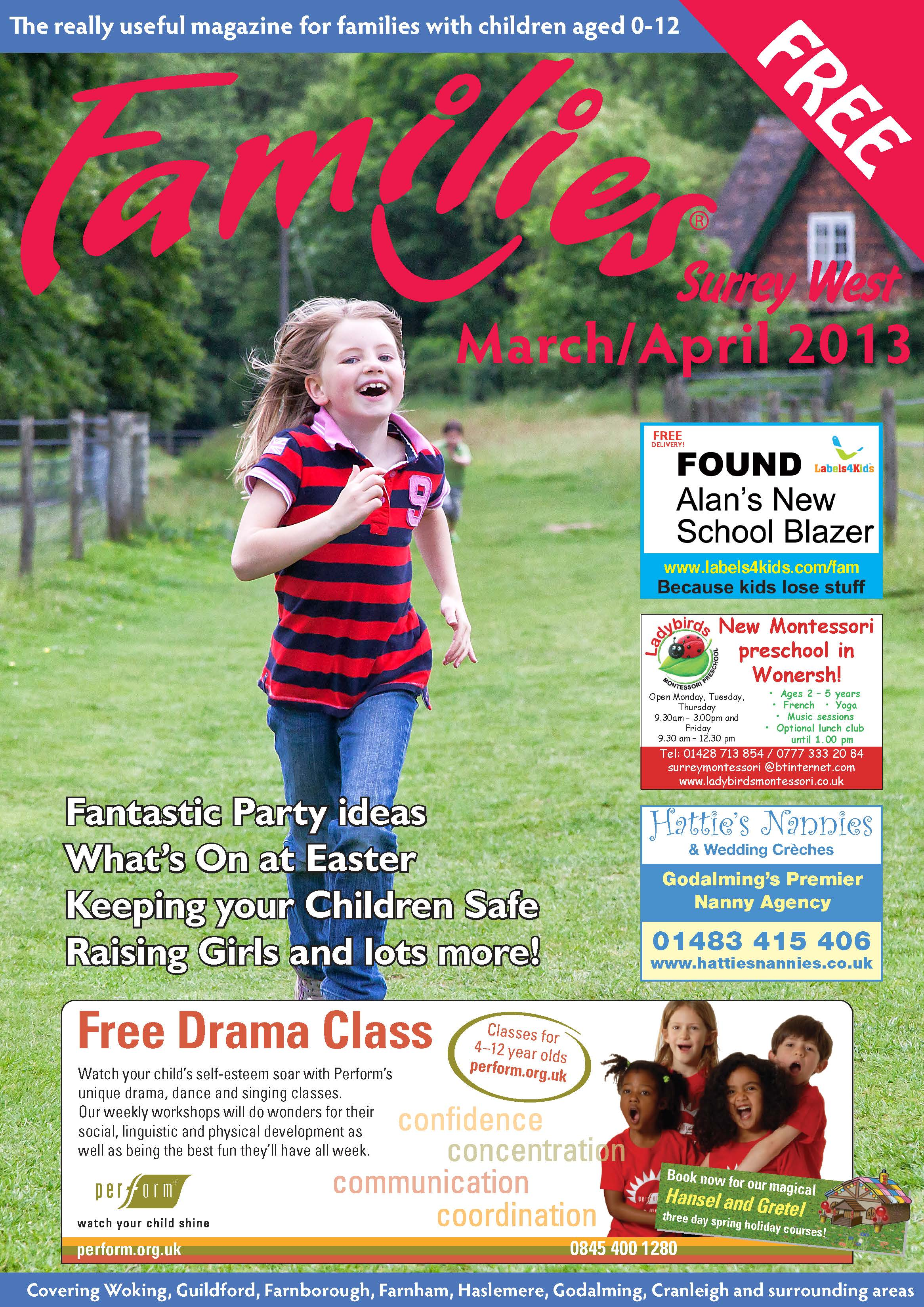 Front cover March 2013