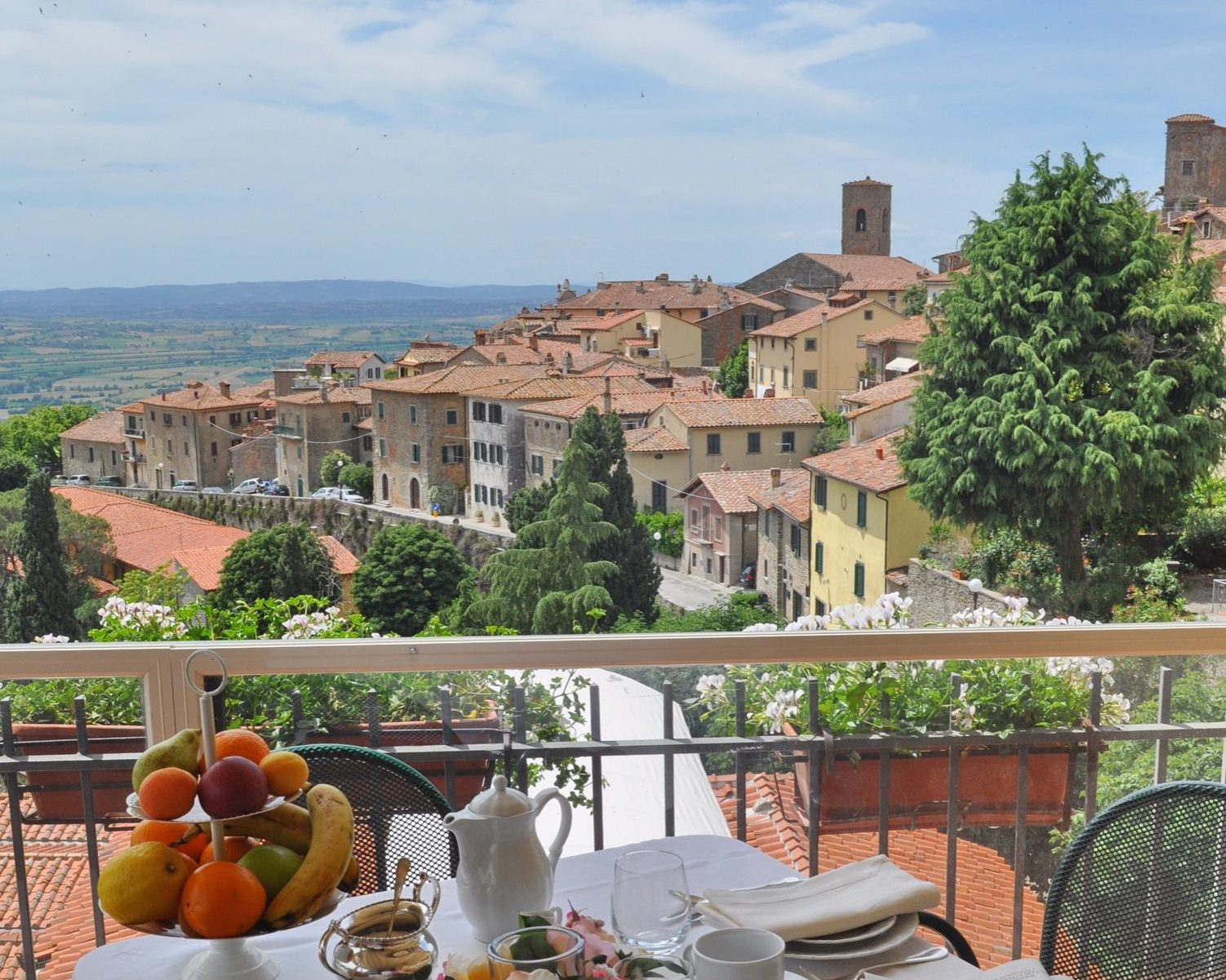 Cortona photography course hotel